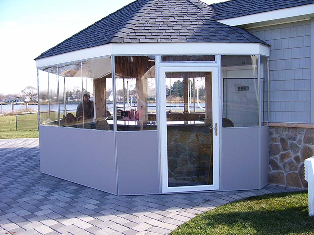 2-commercial-canvas-patio-enclosures-3. After - Commercial Enclosures