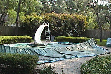 Pool Cover Repair