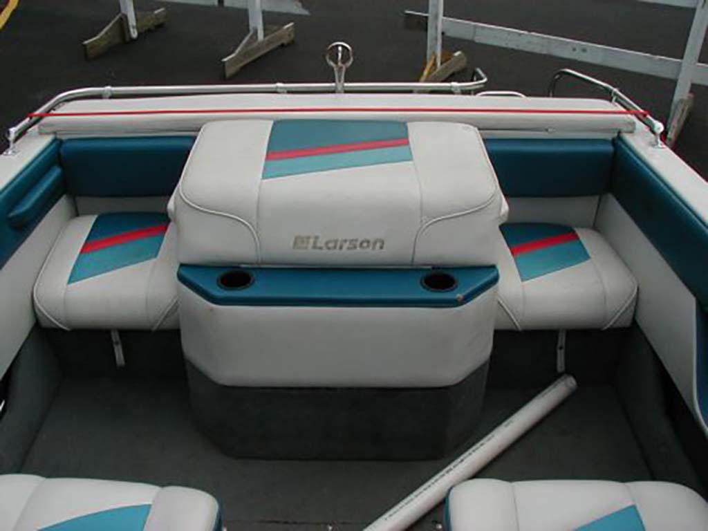 boat upholstery by arols tapiceria interior arol after style searay redesigned s custom reupholster