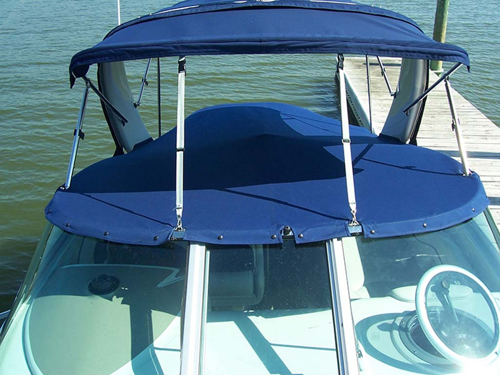 and southern toppers t featured awning awnings stainless service boat
