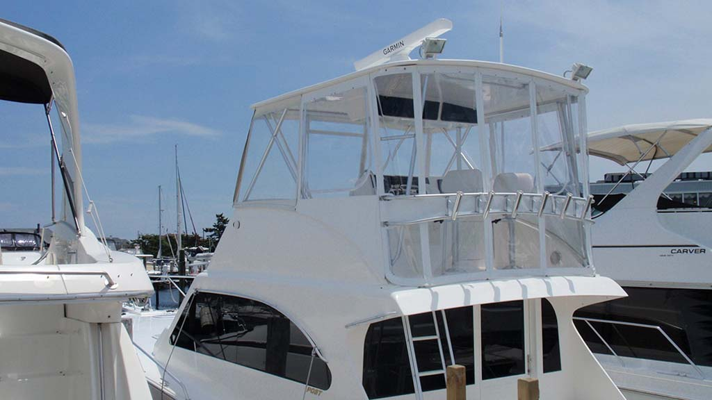 Full Enclosure Boat Tops