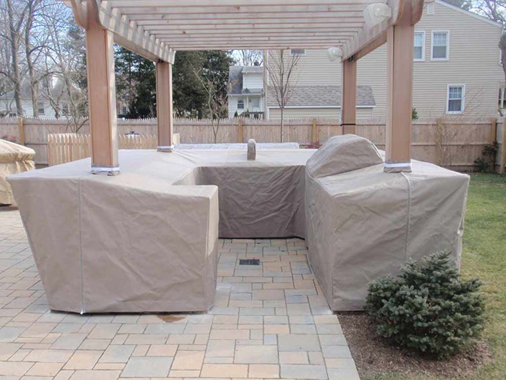 outdoor kitchen cover after before canvas outdoor kitchen cover