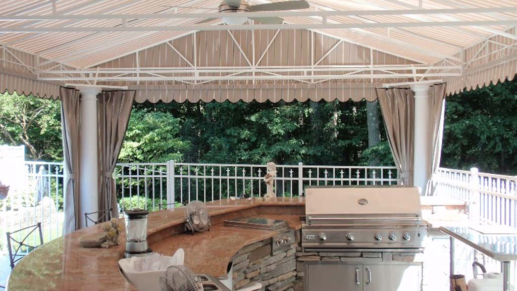 ... Patio Awning ...