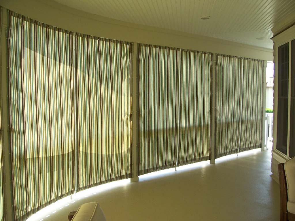 Interior Closed Curtains