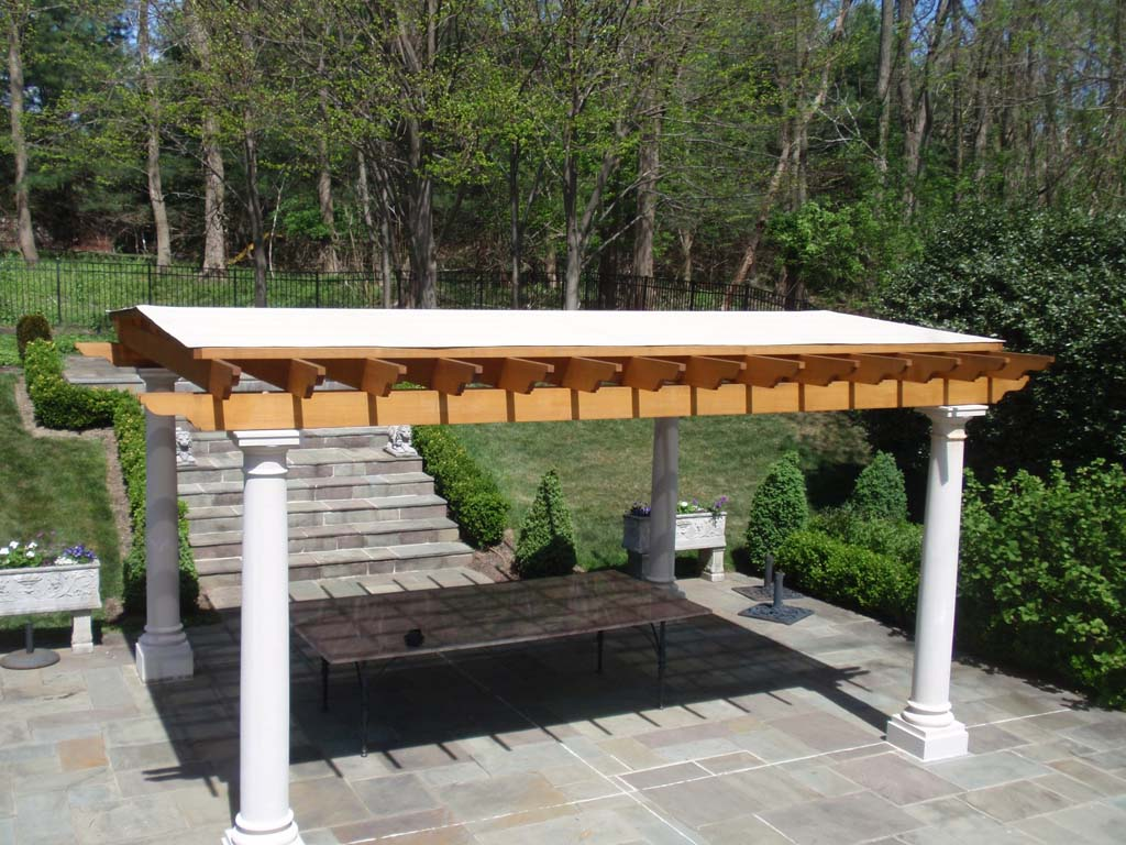 Deck patio and pergola designs 2017 2018 best cars reviews - Waterdichte pergola cover ...