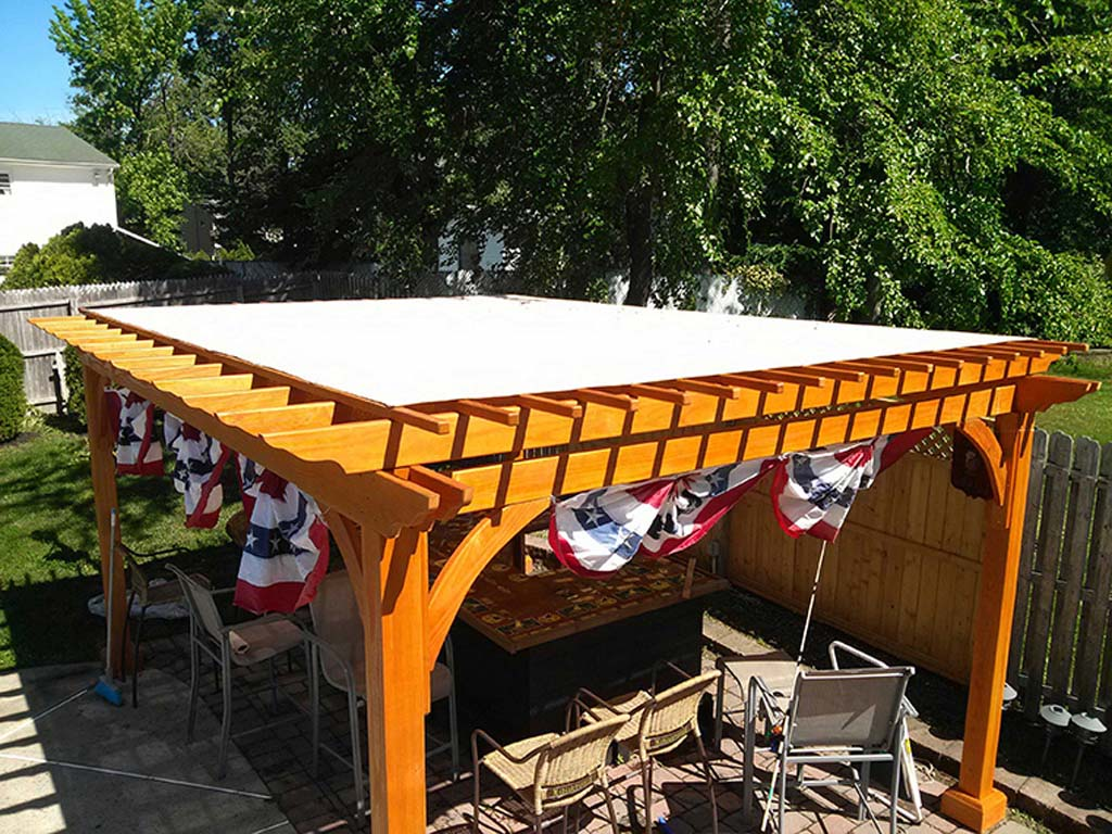 Our Custom Made Pergola Covers Provide A Great Deal Of Shade For An  Otherwise Open Structure. Using A Mesh Material Ensures That You Get The  Ideal Amount Of ...