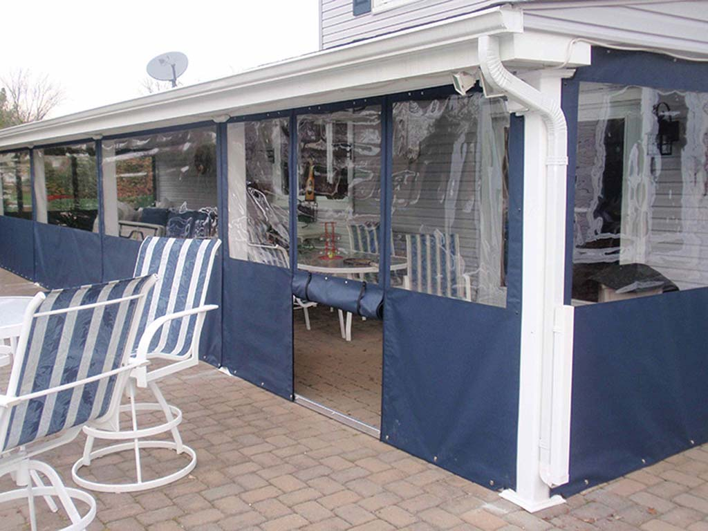 Image gallery outdoor patio enclosures for Gallery porch