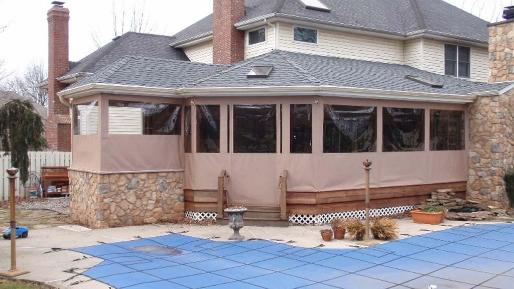 Home Patio Enclosures Custom Enclosures For Your Deck Porch Or Patio