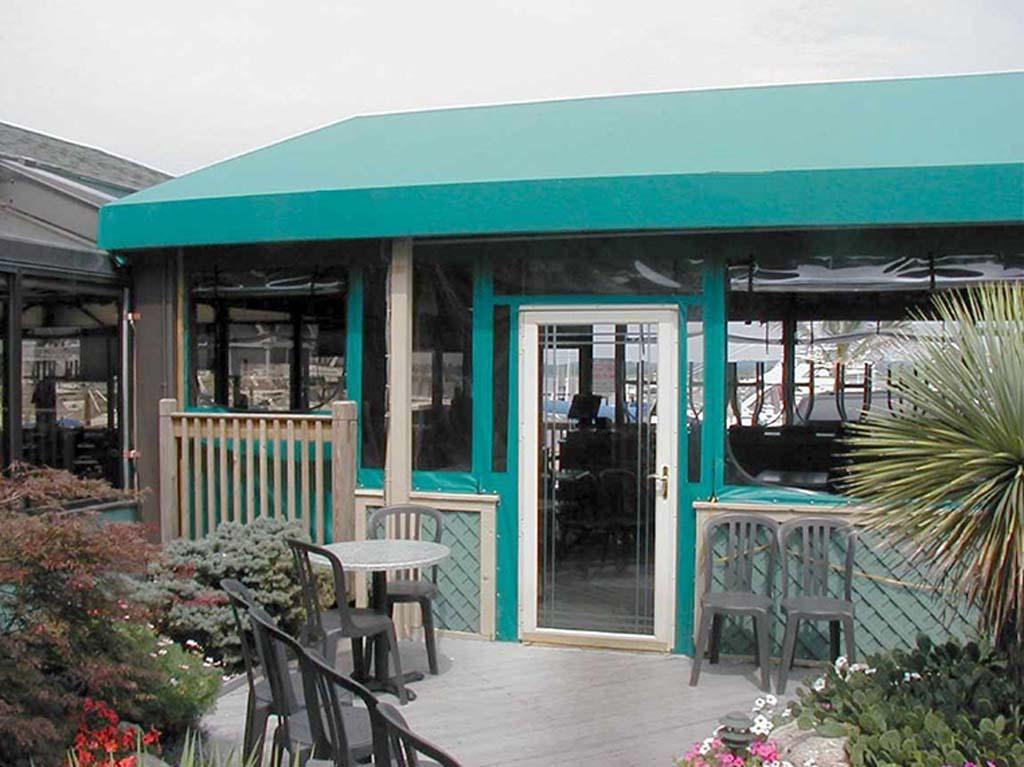 commercial canvas patio enclosures 7 - Commercial Enclosures
