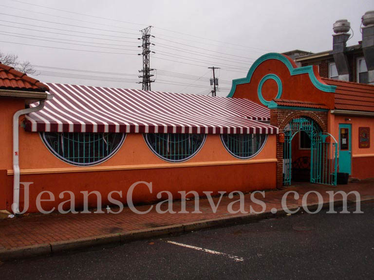 canvas awning 909
