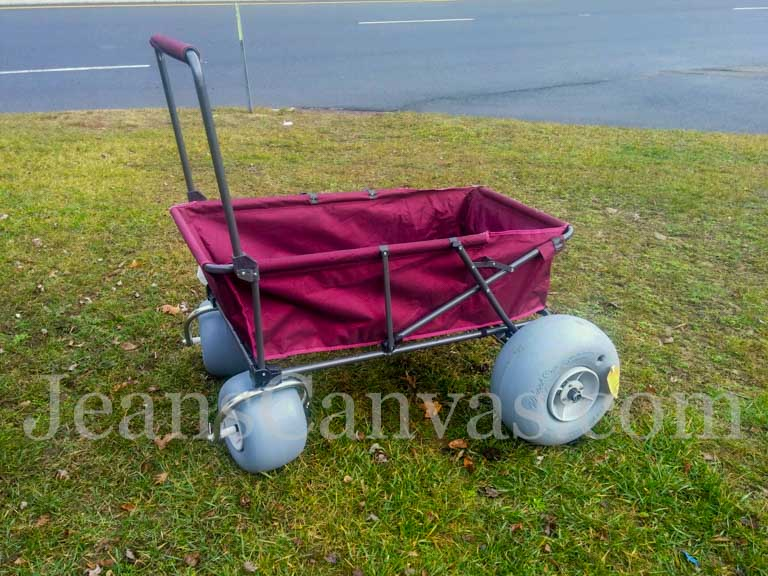 beach carts foldable 2