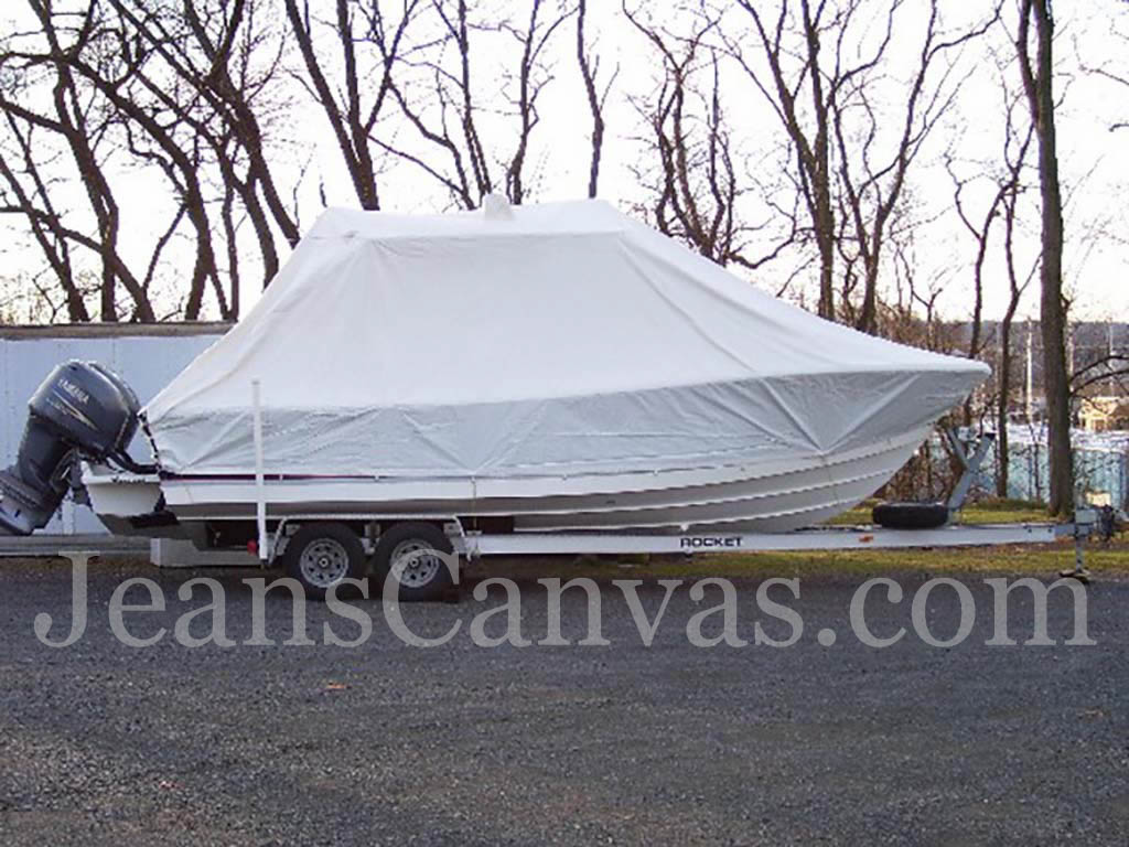 2 custom canvas boat covers 281