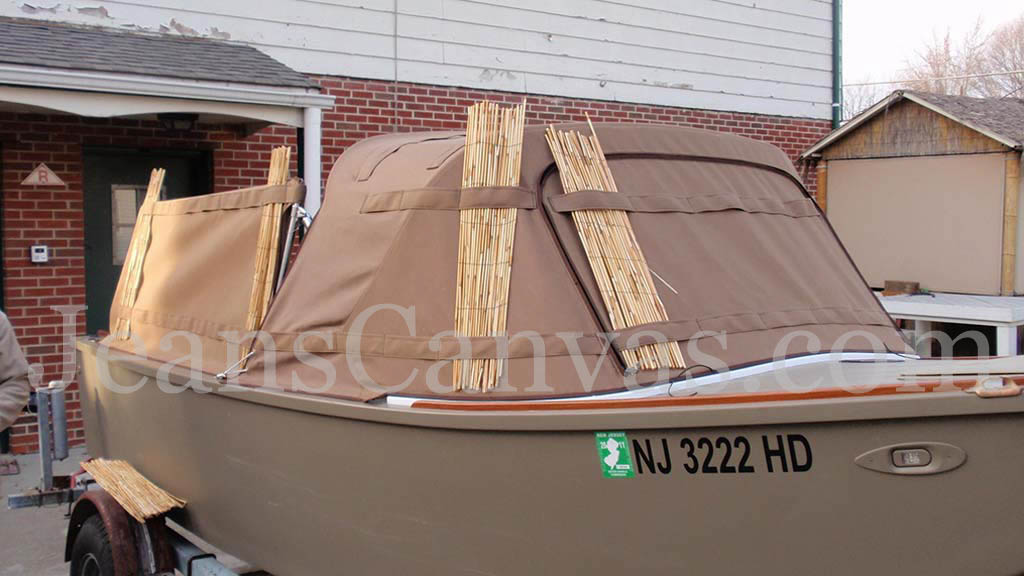 custom duck boat canvas1
