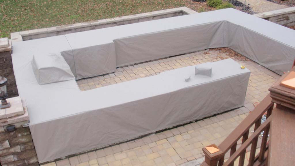 Custom Outdoor Kitchen Covers