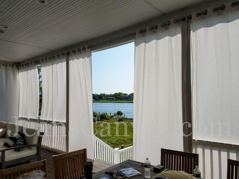 Outdoor Canvas Curtain Ideas