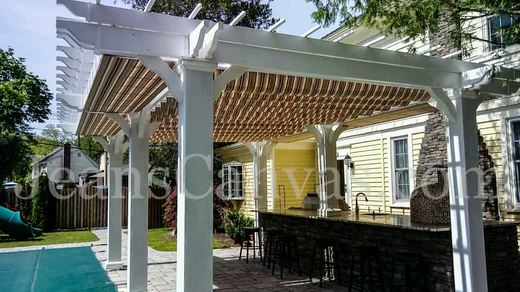 custom Pergola Covers 26