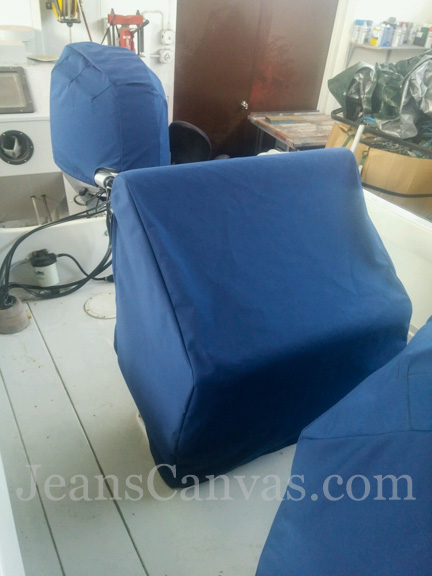 33 custom CANVAS SEAT COVERS