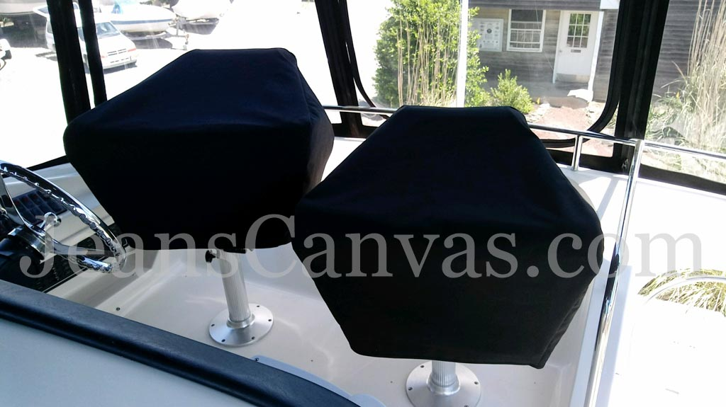 35 custom CANVAS SEAT COVERS