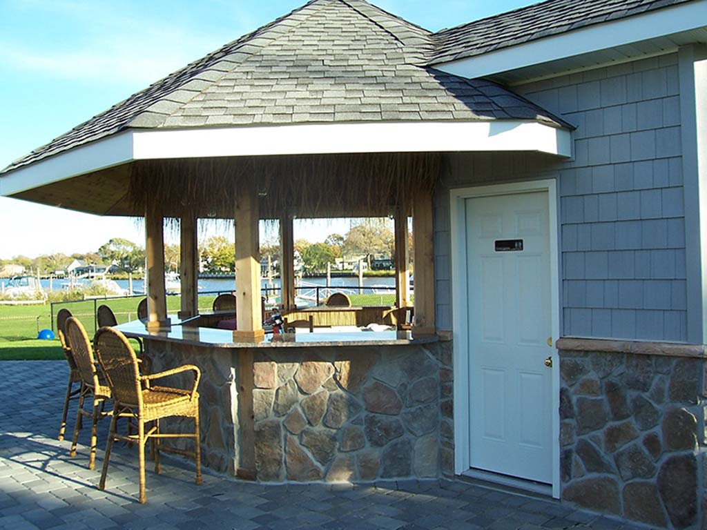 Outdoor Kitchen Bar Gazebo